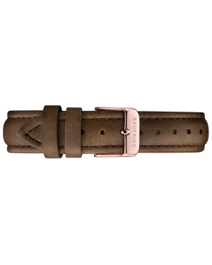 Genuine Leather Strap - Brown