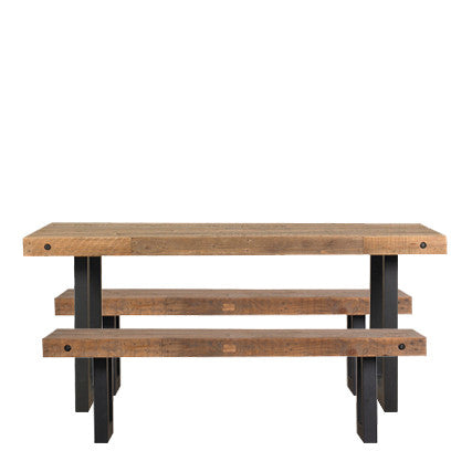 Brooklyn Dining Table 2 Benches