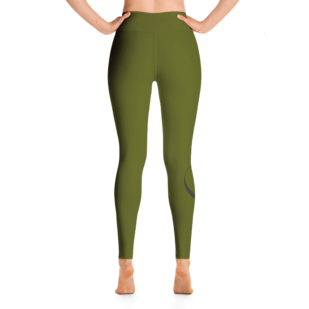 ARMY GREEN CHRIST LEGGINGS Yoga Leggings