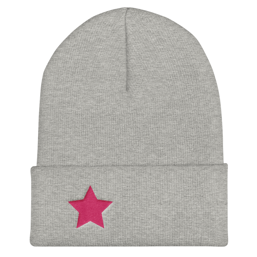 Signature Star Cuffed Beanie