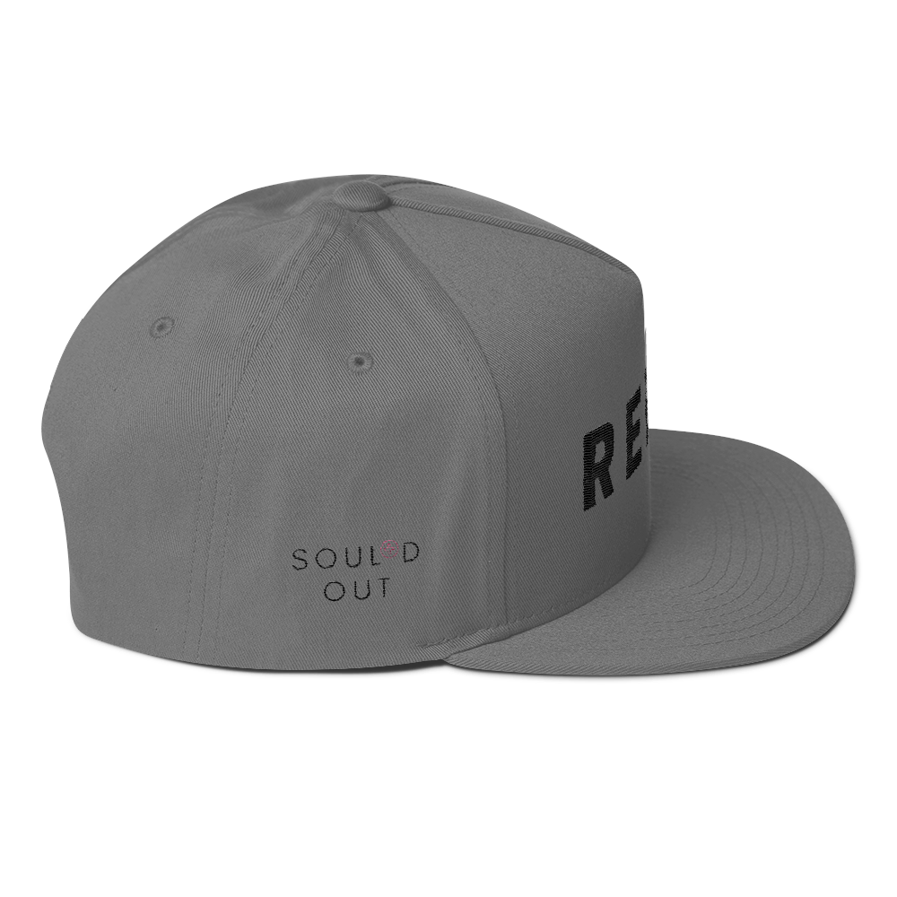REBEL Signature Series SOUL*D OUT Flat Bill Cap