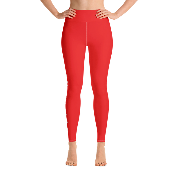 I GOD THIS RED POWER LEGGINGS