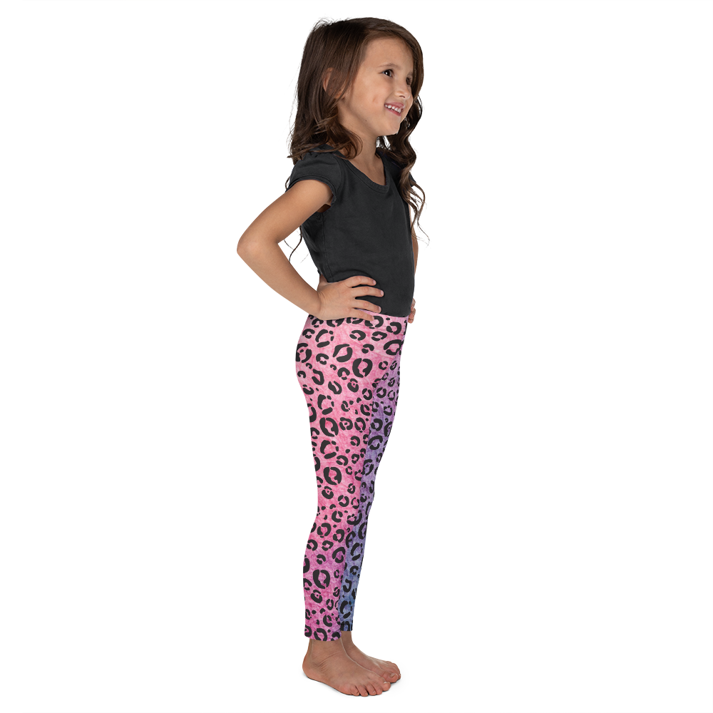 You're gonna hear me roar multi-color leopard print leggings