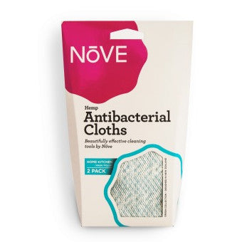 Nove Antibacterial Cloth - 2 pack- box of 24 (48 cloths)