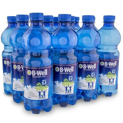 B-Well Alkaline Water 12 x 500ml ($1.17 per bottle)