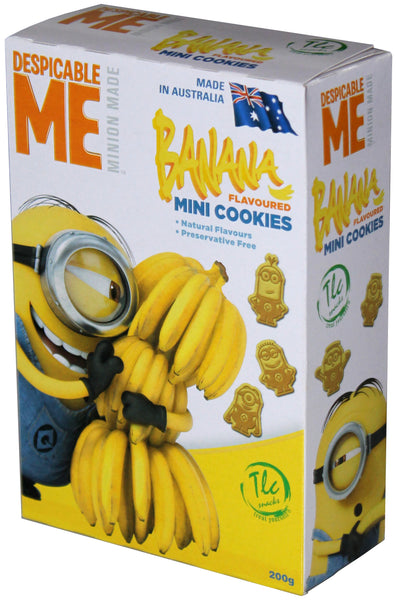 Despicable Me - Minion Made Cookies - Banana - Box of 6