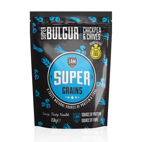 Supergrains Bulgar Chickpea & Chives - Box of 6