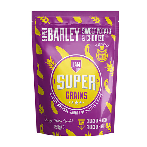 Supergrains Barley with Sweet Potato & Chorizo