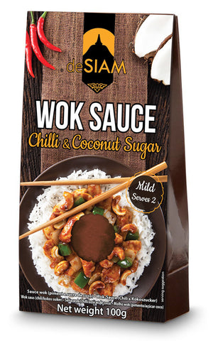 deSIAM - Chilli and Coconut Sugar Wok Sauce- box of 6