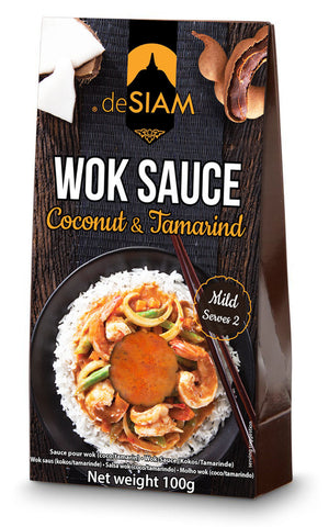 Coconut and Tamarind Wok Sauce- box of 6