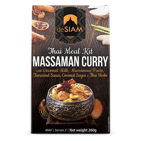deSIAM - Massaman Curry Kit- box of 6