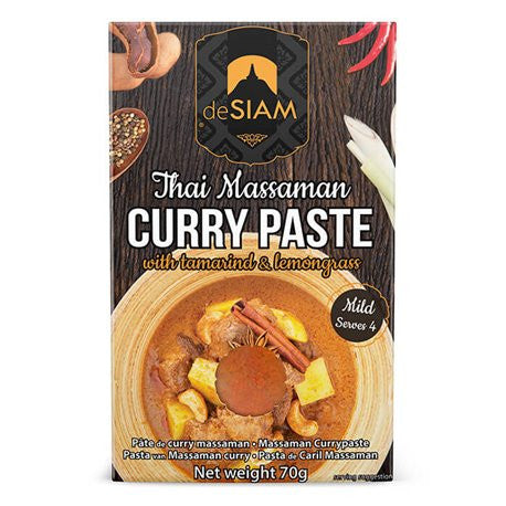deSIAM - Massaman Curry Paste- box of 6
