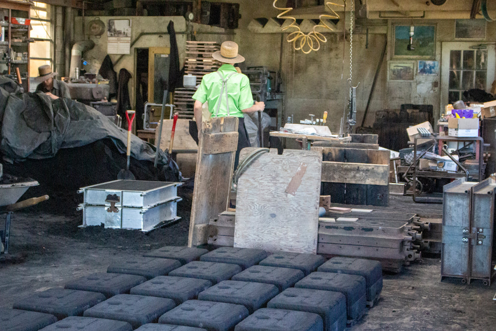 Workers in foundry