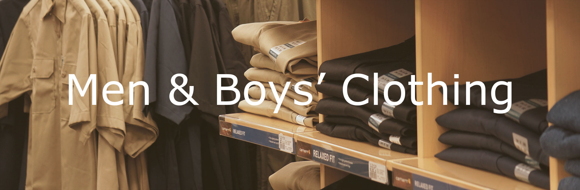 Good's Store Men and Boys Clothing