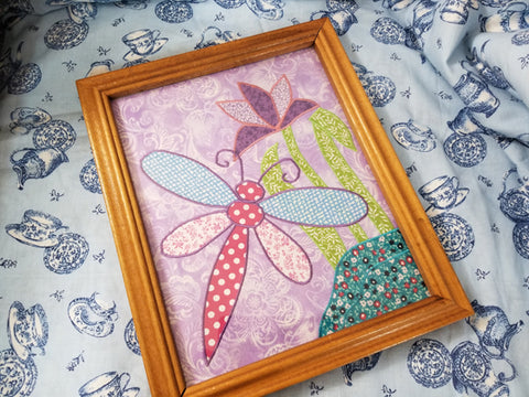 Dragonfly Applique Step 12
