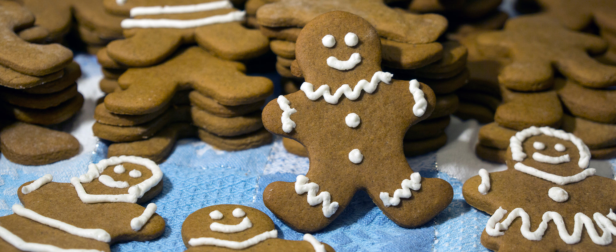 Gingerbread Men Christmas cookies