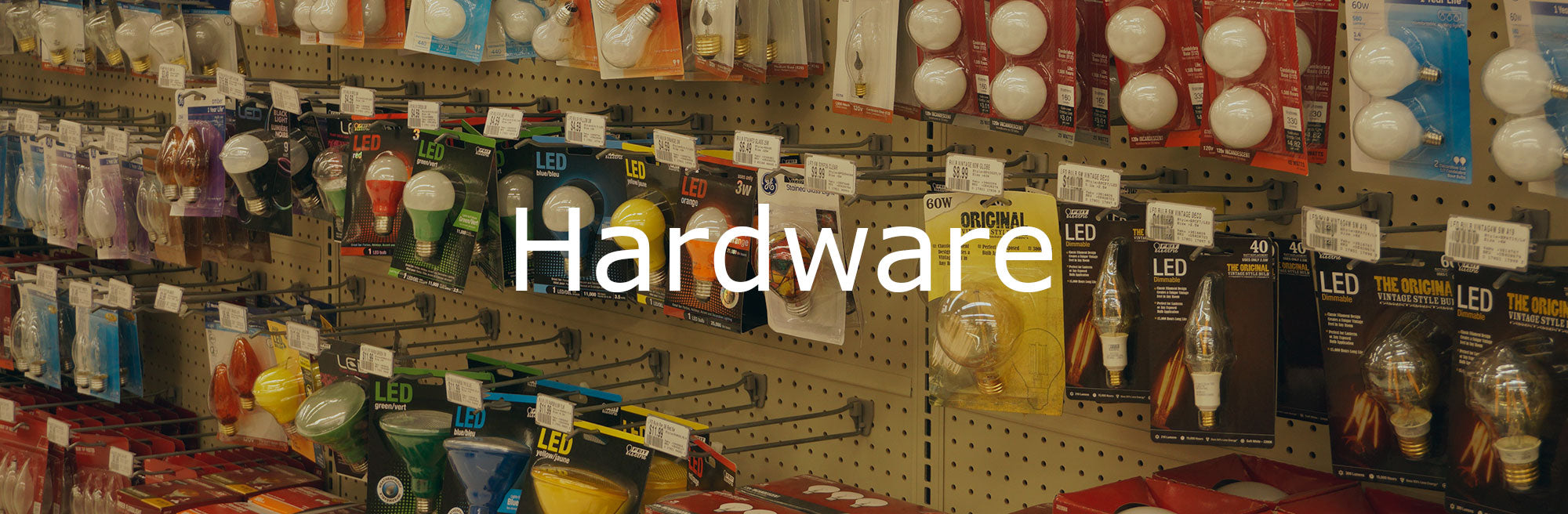 Hardware Department at Good's Store