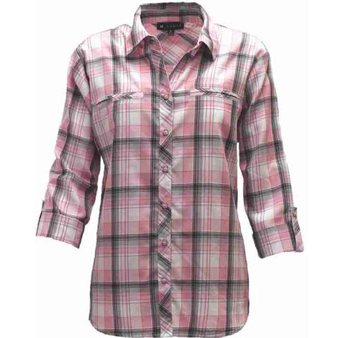 N Touch Women's Plaid Shirt - Good's Store