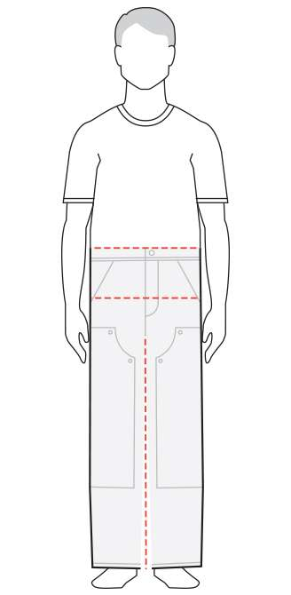 How to Measure Guide Men's Pants