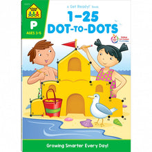 1-25 Dot to Dots  Preschool Workbook 02273