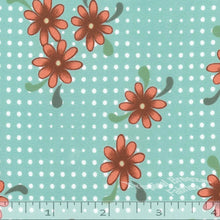 Koshibo Dotted Floral Dress Fabric 048114