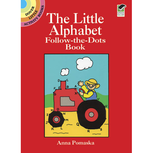 Dover The Little Alphabet Follow-the-Dots Book