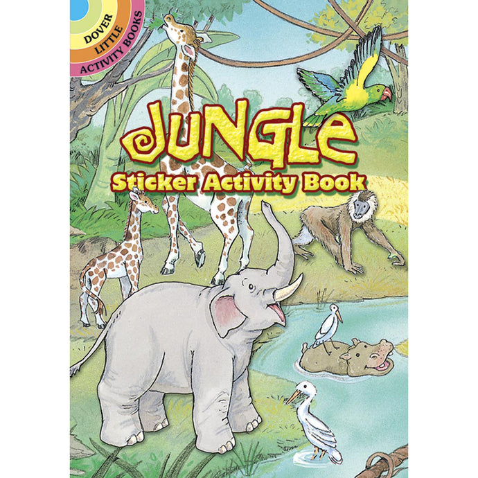 Dover Jungle Sticker Activity Book