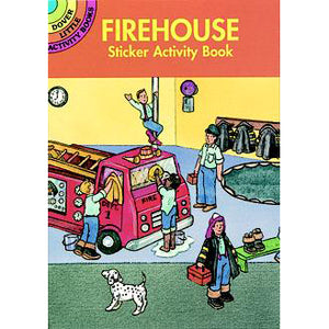 Dover Firehouse Sticker Activity Book