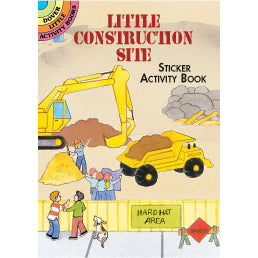 Dover Little Construction Site Sticker Activity Book