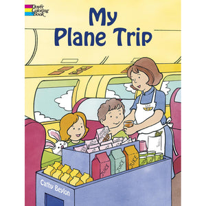 Dover My Plane Trip Coloring Book