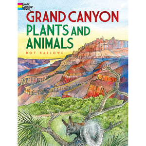 Dover Grand Canyon Plants and Animals Coloring Book