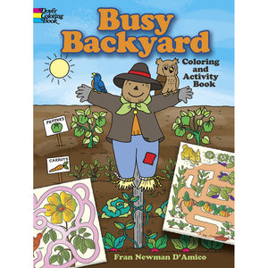 Dover Busy Backyard Coloring and Activity Book