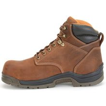 Waterproof leather Carolina Shoe work boot.
