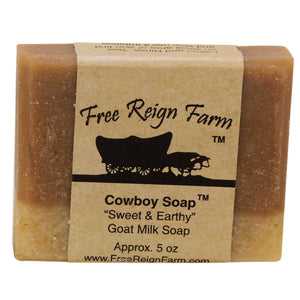 Free Reign Farm Cowboy bar soap.