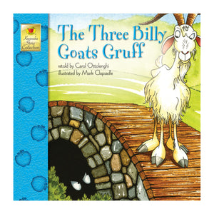 The Three Billy Goats Gruff book front cover