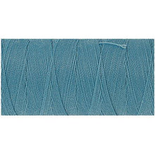 Turquoise Blue thread.