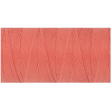 Corsage peach rose color Mettler thread.