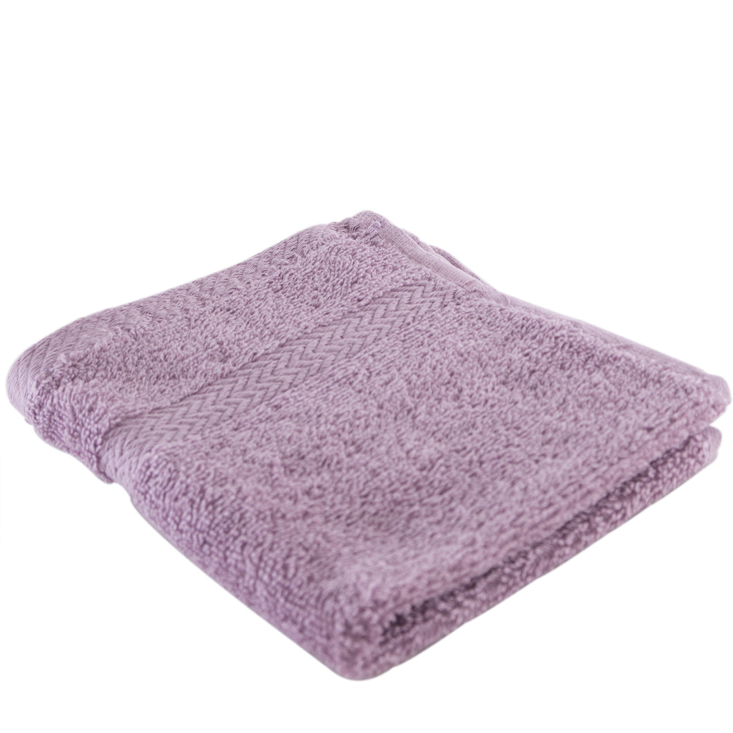 Lilace washcloth.