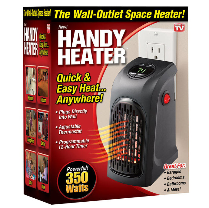 Handy Heater Plug-In Wall Heater