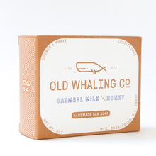 Oatmeal bar soap.