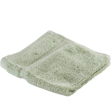 Pacific green washcloth.