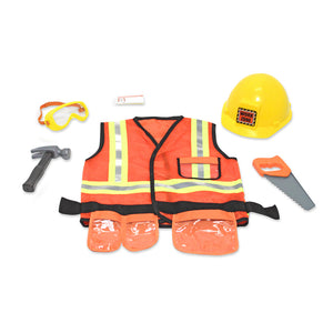 Children construction worker's costume