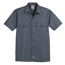 Dickies mens short sleeve shirt Charcoal.