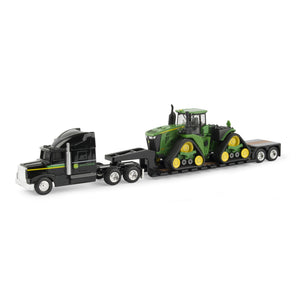 John Deere 9570RX Tractor on Semi and Trailer