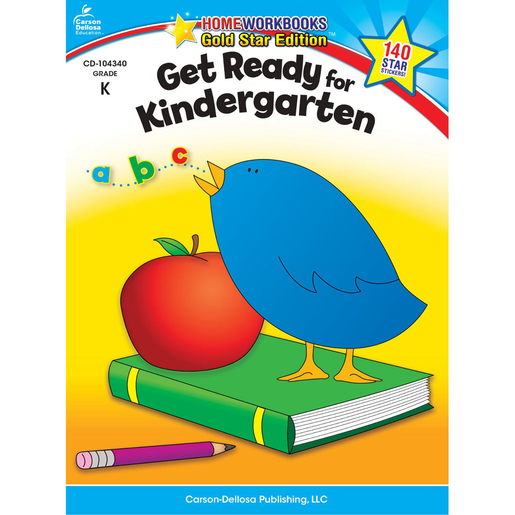 Carson Dellosa Get Ready for Kindergarten activity book
