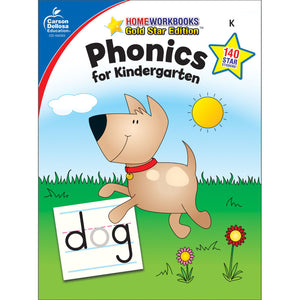 Carson Dellosa Phonics for Kindergarten activity book