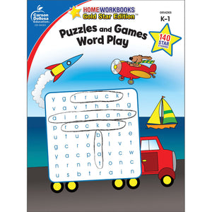 Carson Dellosa Puzzles & Games Word Play activity book