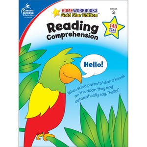 Carson Dellosa Reading Comprehension Grade 3 activity book