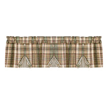 Thyme button pleat valance