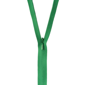 Shamrock Green Unique invisible zipper.